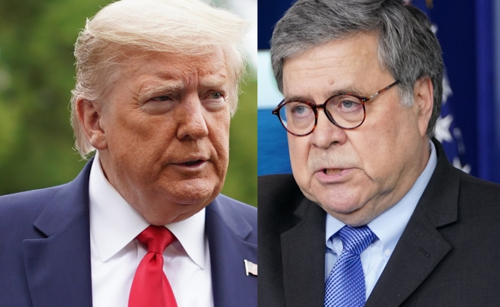 """Trump Destroys Bill Barr Over No Obama Indictments Before Election: 'I'll Tell Him It's A Disgrace, And Then Sit On HisFace"""""""