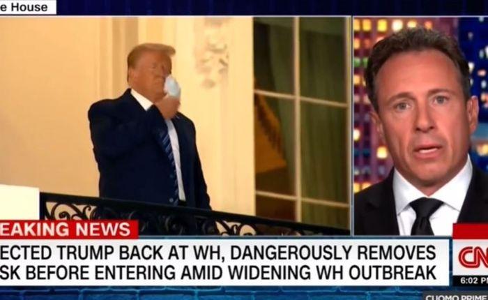 """Chris Cuomo Loses It Over Trump's 'Bulls**t' Coronavirus 'Propaganda': """"Melania Should Bitch Slap TheTurd"""""""