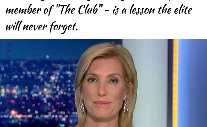 Laura Ingraham Urges Trump Voters To 'Teach The Elites And Their Lackeys A Message' By Re-electing A Lackey For TheElites