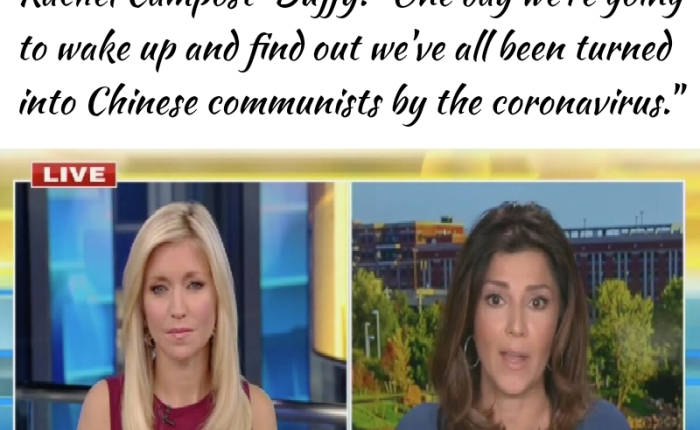 Fox News Doofus Tells Ainsley Earhardt That The Coronavirus Was Created To Turn Us AllChinese