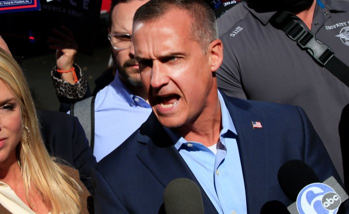 After Soiling Himself On CNN, Corey Lewandowski Contracts the COVIDHoax