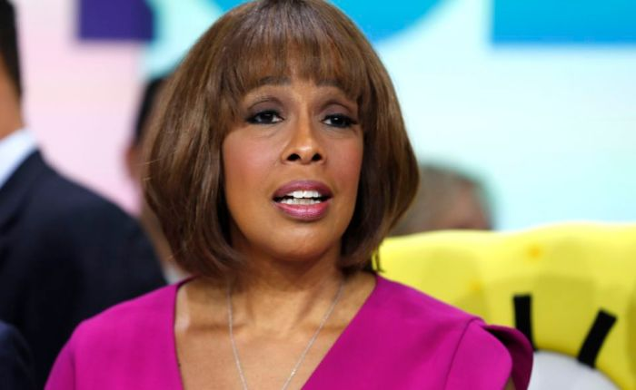 """Gayle King Calls Out Trump's 'Least Racist' Debate Claim: 'Where Is His Head? Up His Own RearEnd?"""""""