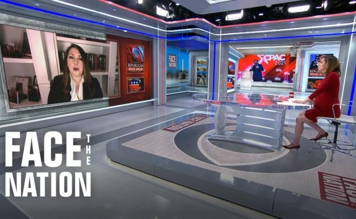 "RNC Chair Ronna McDaniel Has ""Democrat-Antifa Brain Rot"" On Face The NationAppearance"