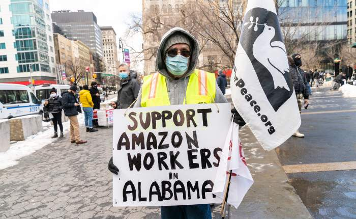 In The News This Week: Amazon Defeats Unionization Efforts At Their AlabamaWarehouse