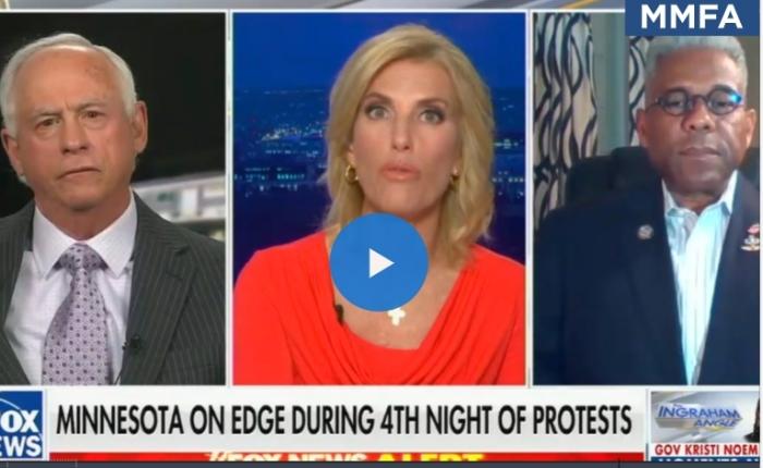 In Wing Nut News: Laura Ingraham Blames Mainstream Liberal Media For Shootings Of BlackMen