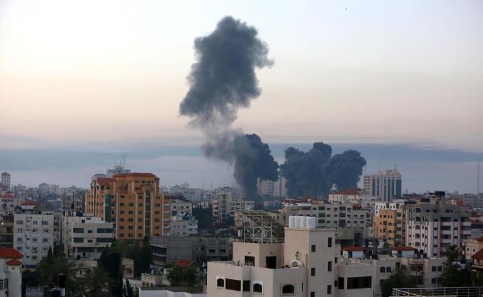In The News: Israeli Airstrikes Destroy Tower Housing International Media InGaza