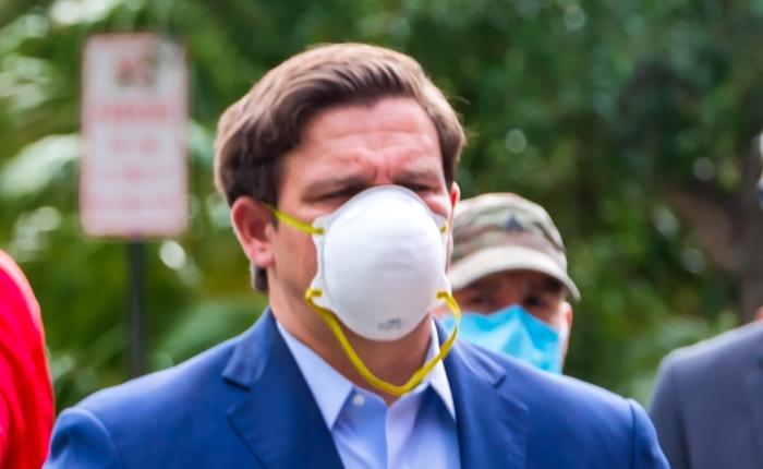 Ron DeSantis Says Politics Have Masks Around Them, And OnionsToo